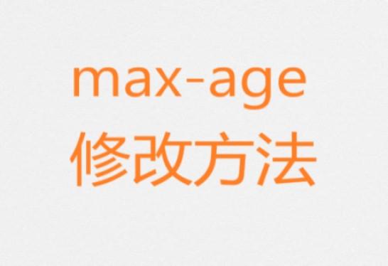 【wordpress】响应标头cache-control max-age修改方法