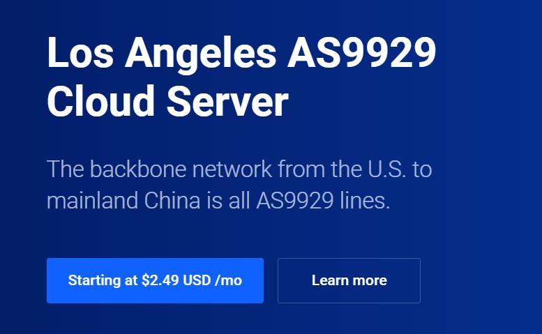 CloudPowerall介绍洛杉矶CN2 GIA 9929线路100兆带宽$29.99/年