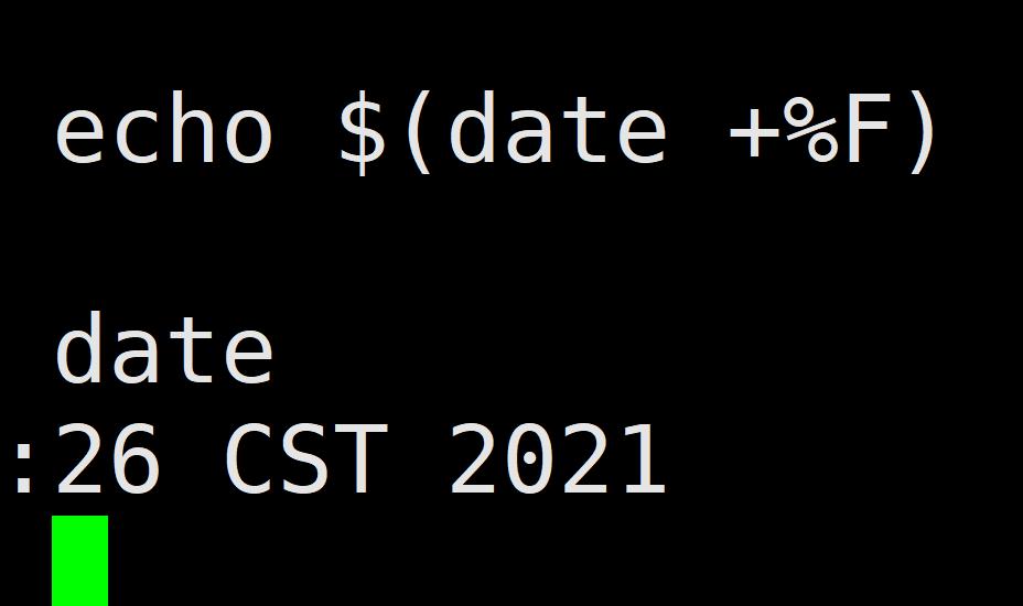 Linux格式化输入时间日期